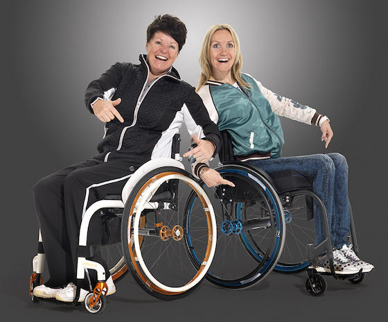 Magenesium wheels by Mifa REHACARE 2016 full